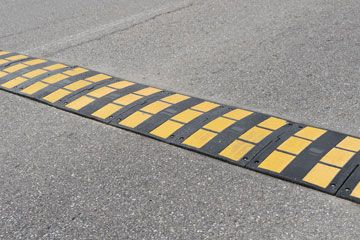 Speed Hump For Safety Enhancement